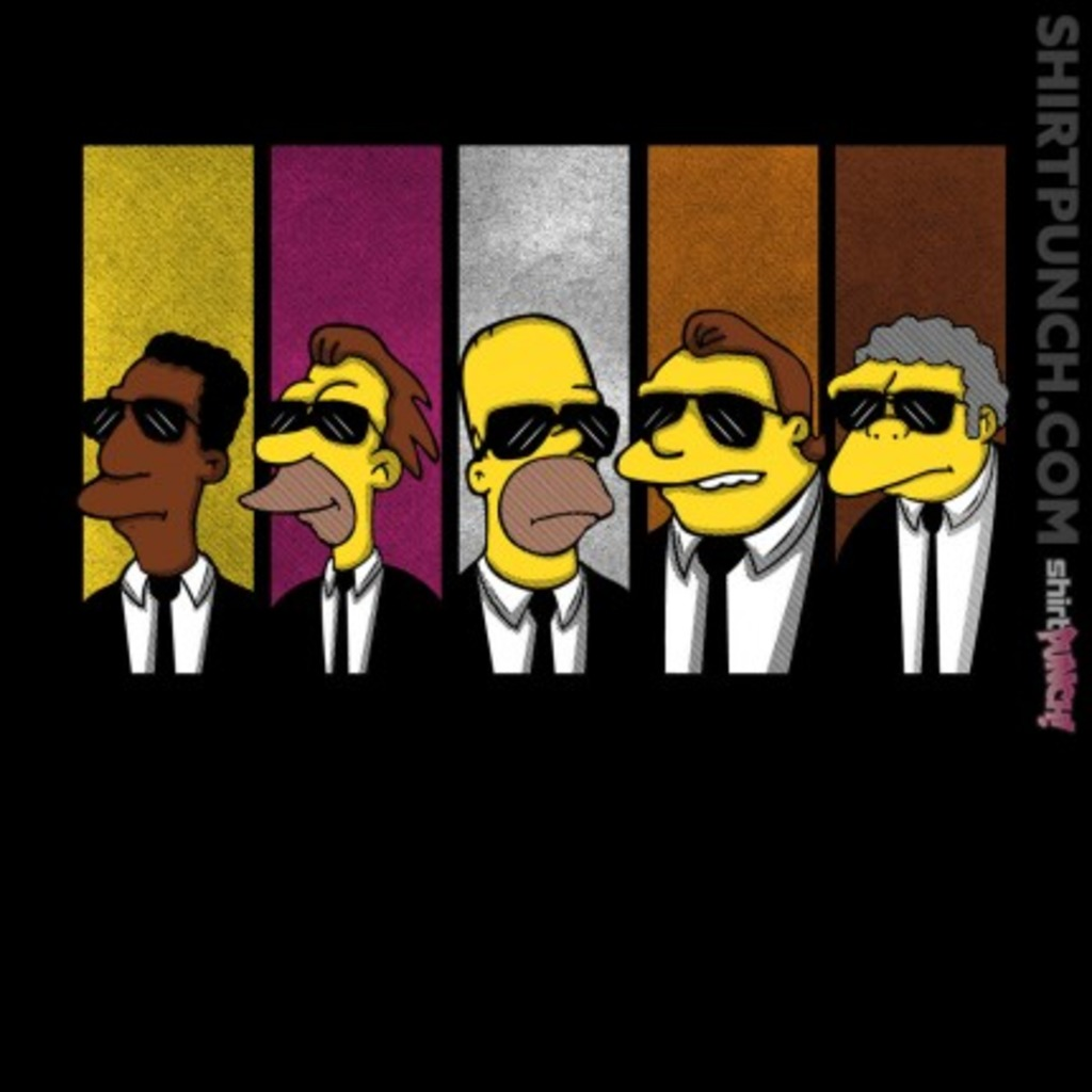 ShirtPunch: Reservoir Simpson
