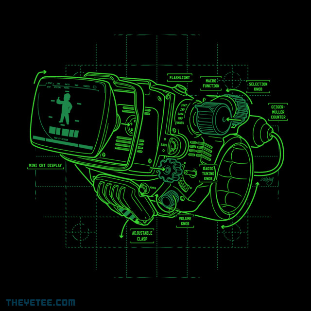 The Yetee: Blueprint Mark IV