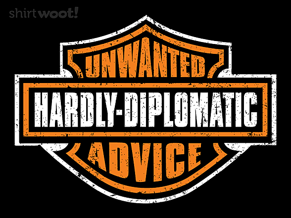 Woot!: Unwanted Advice