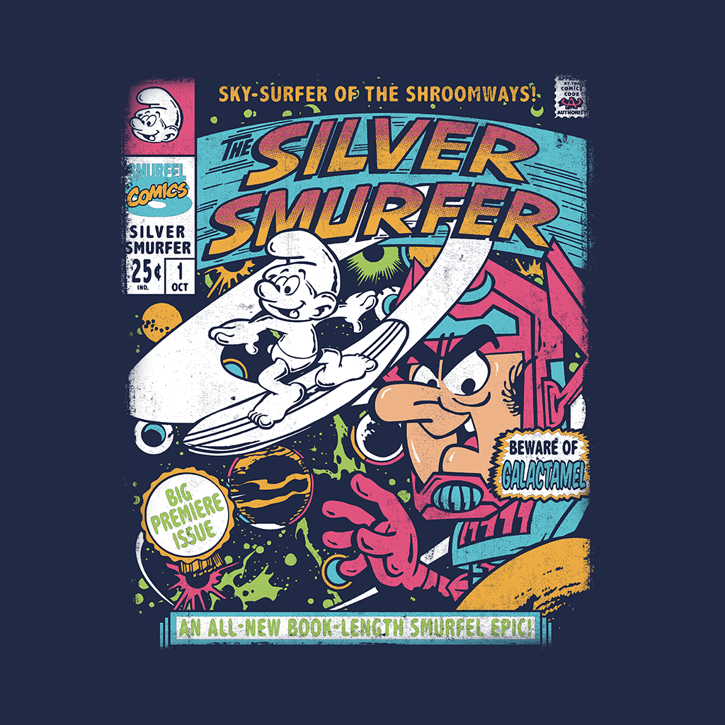 Pop Vulture: SilverSmurfer