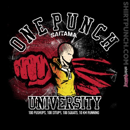 ShirtPunch: One Punch University