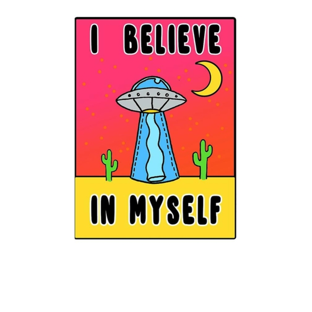 BustedTees: I Believe In My Self