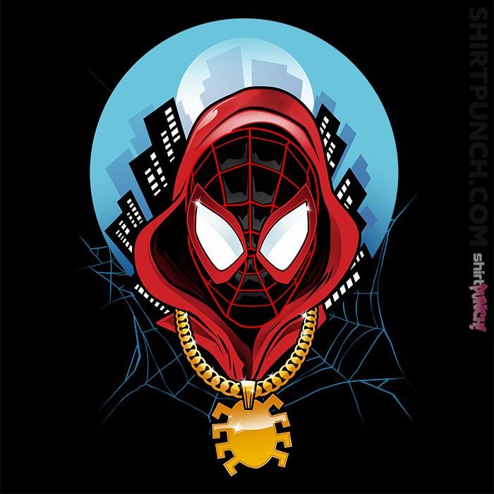 ShirtPunch: Spider Miles