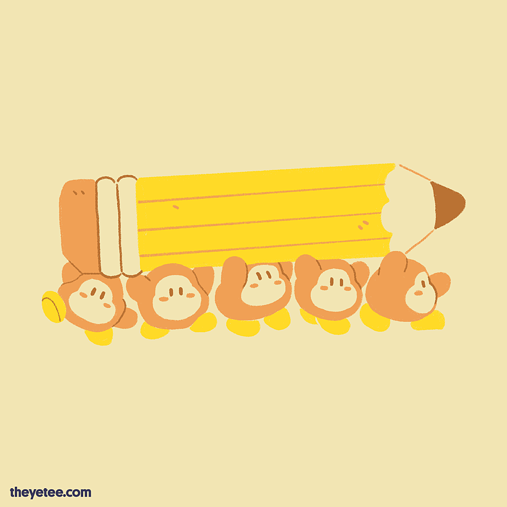 The Yetee: Waddle Draws