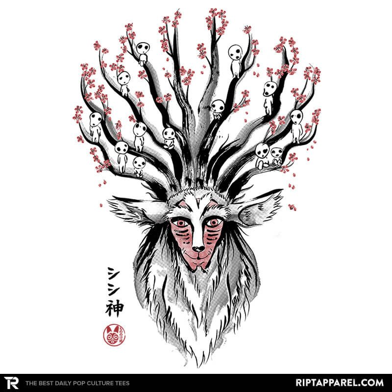 Ript: The Deer God sumi-e