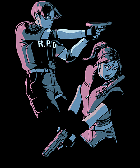 Qwertee: Raccoon City Survivors