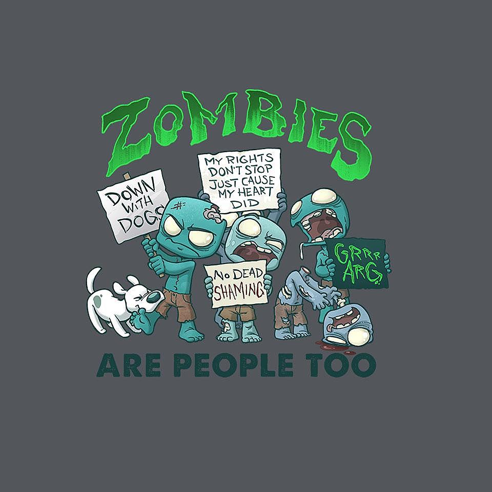 TeeFury: Zombie Rights