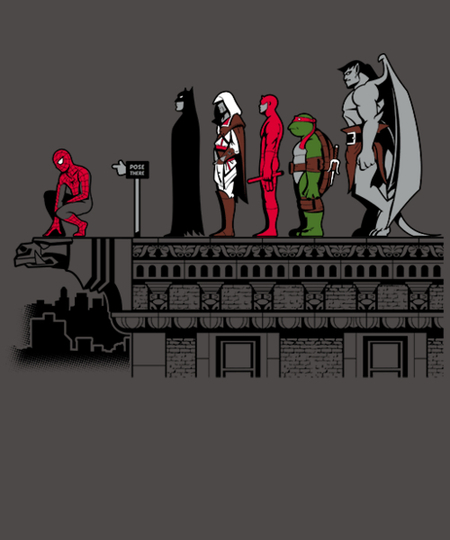 Qwertee: Pose Point