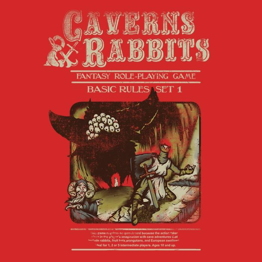 Once Upon a Tee: Caverns and Rabbits
