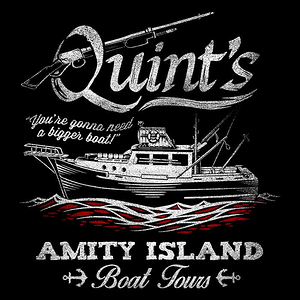 Once Upon a Tee: Quint's Boat Tours