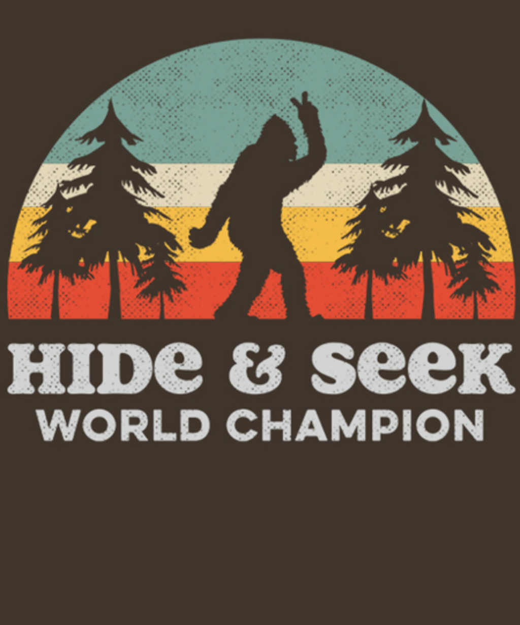 Qwertee: Hide and Seek Champion