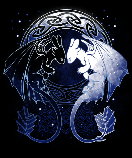 Qwertee: Two Dragons