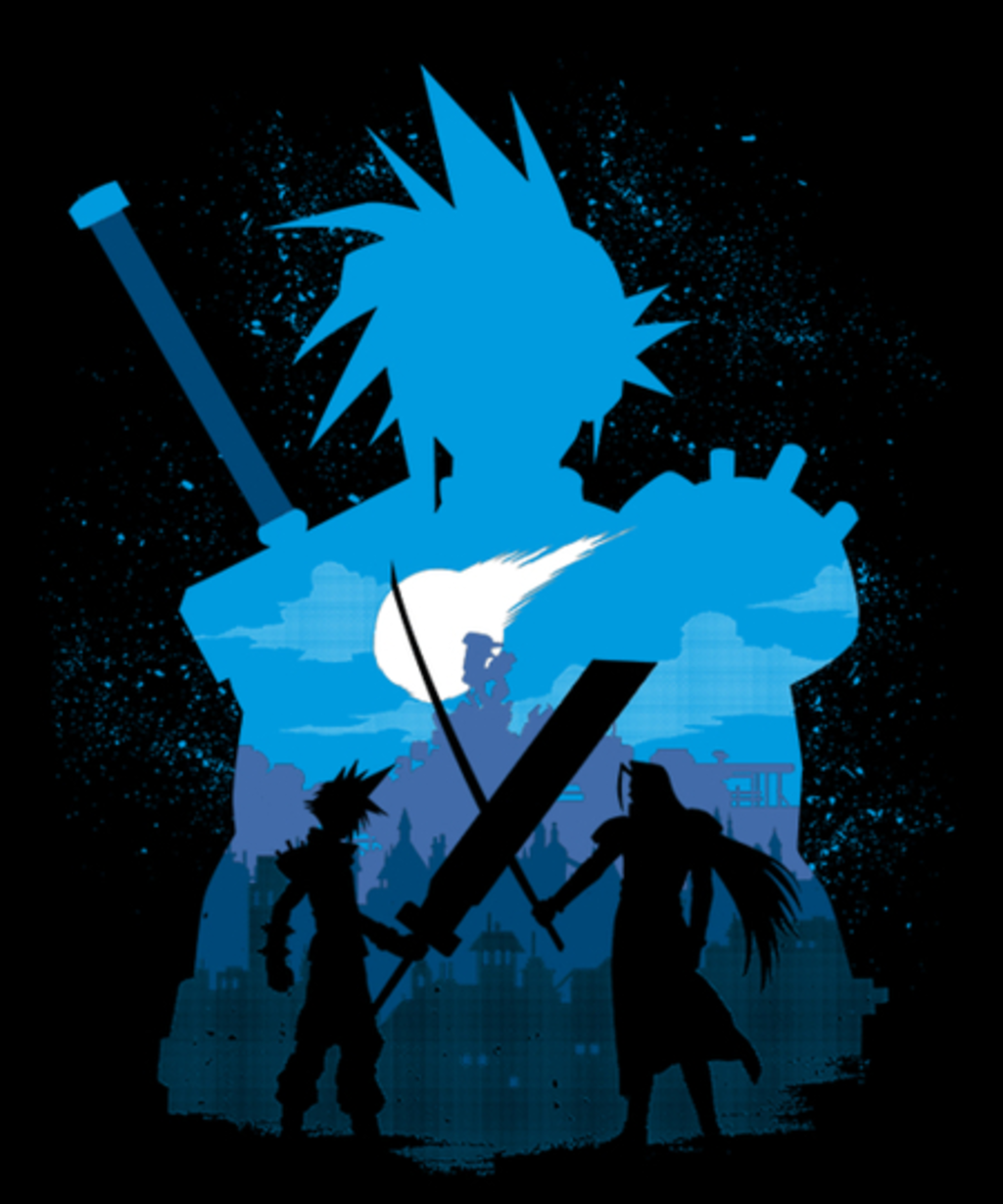 Qwertee: Fantasy fight