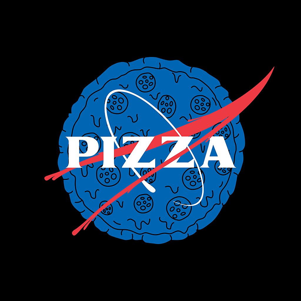 TeeTee: PIZZA NASA
