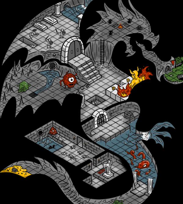 teeVillain: Return to Dungeons in Dragons