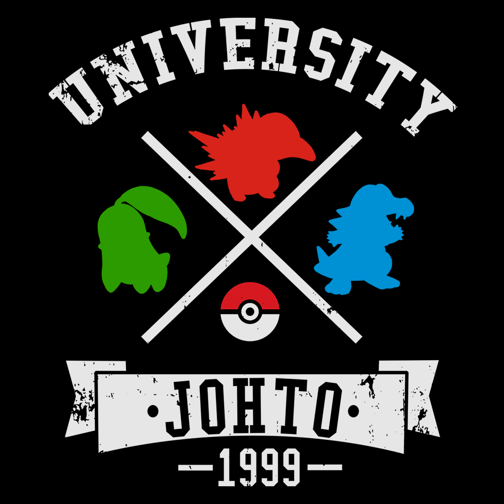 Pop-Up Tee: University Johto