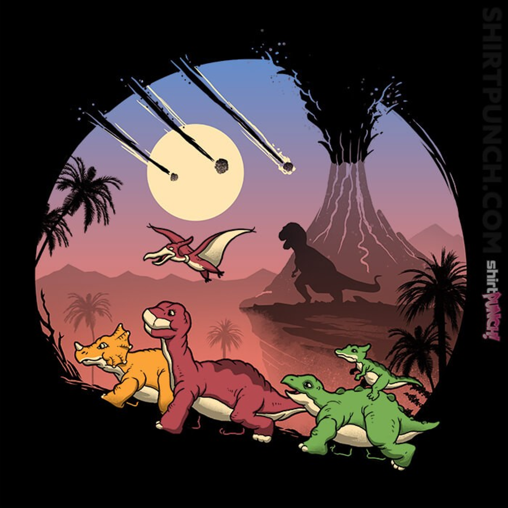 ShirtPunch: The Land Before Extinction