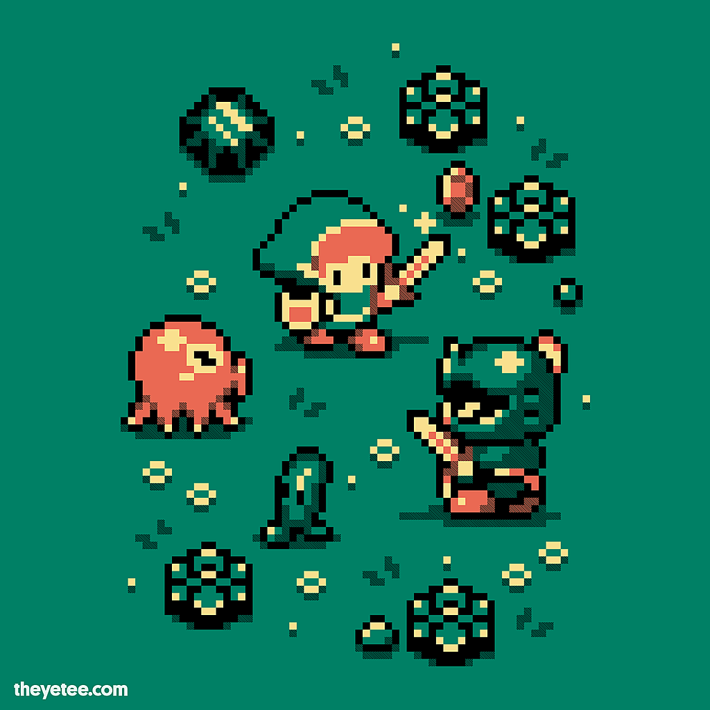 The Yetee: 8-Bit Hero