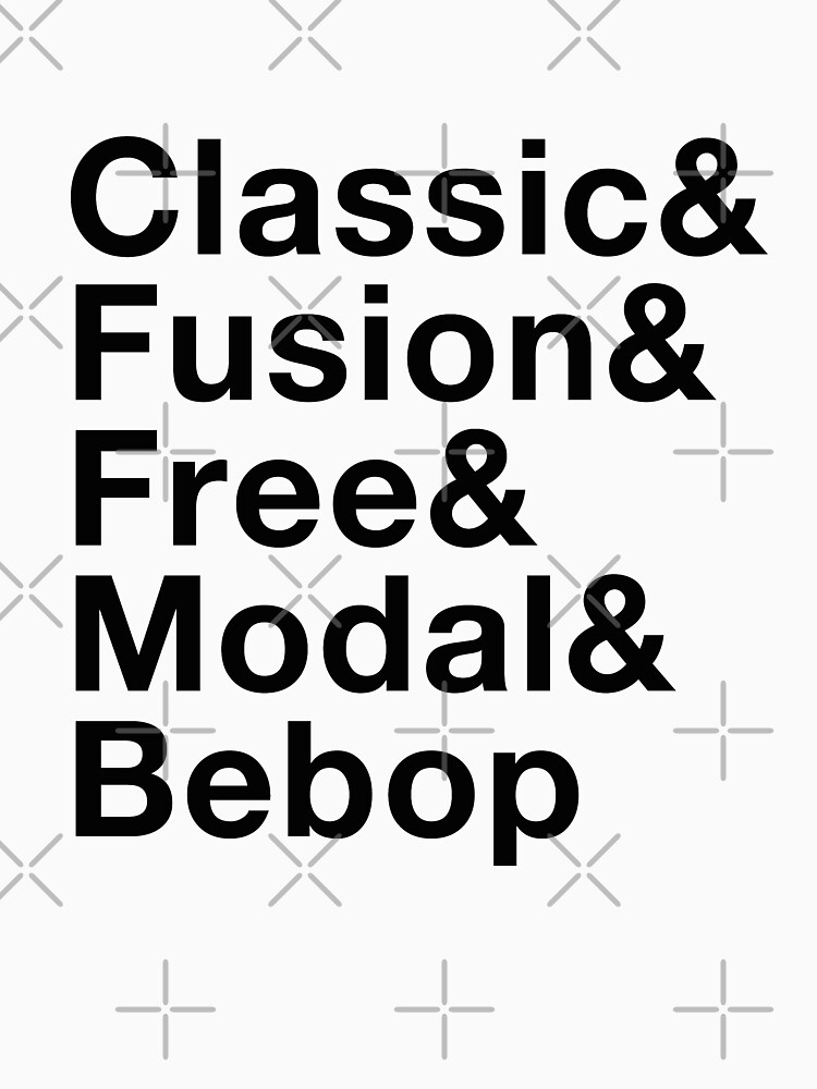 RedBubble: Classic, Fusion, Free, Modal, Bebop