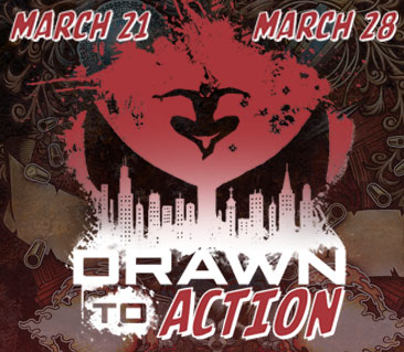 TeeFury: Drawn To Action Collection