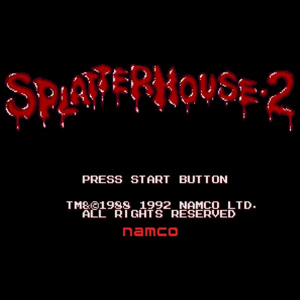NeatoShop: SPLATTERHOUSE 2 Press Start to Splatter