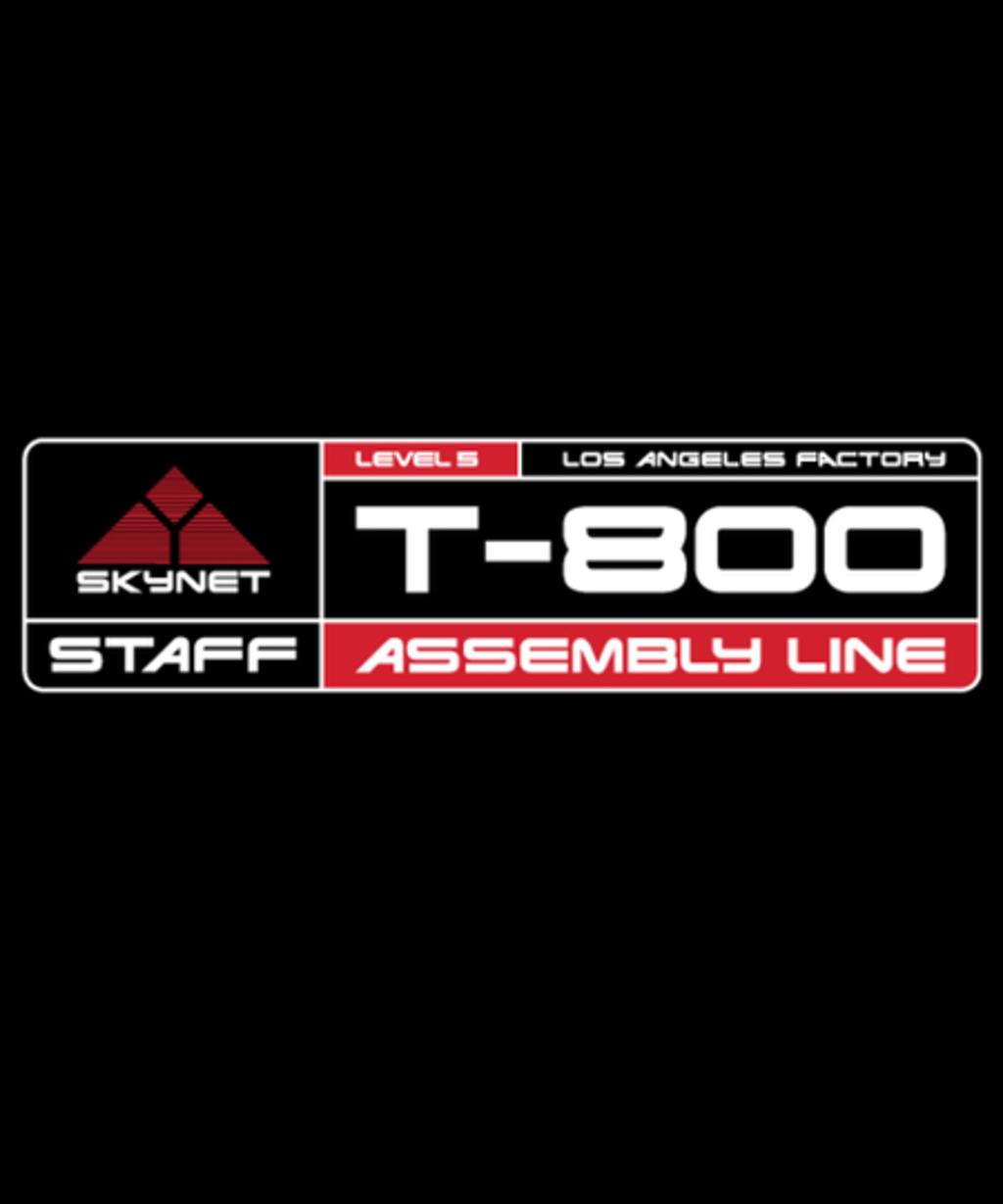 Qwertee: T-800 FACTORY