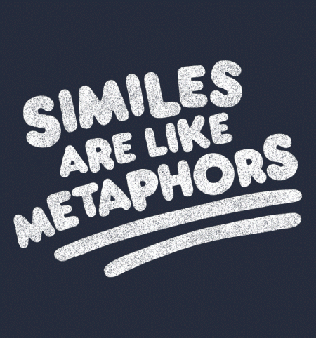 BustedTees: Similes
