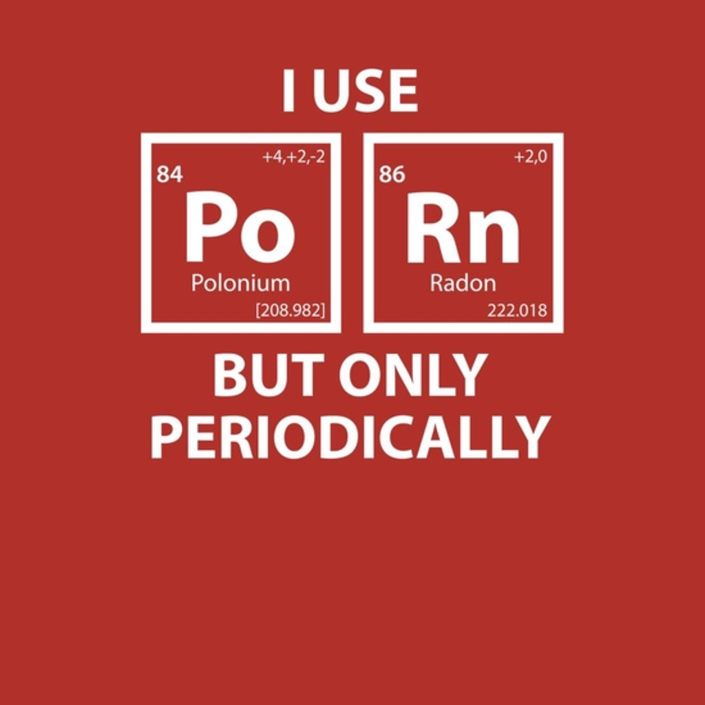 BustedTees: I Use Porn but Only Periodically