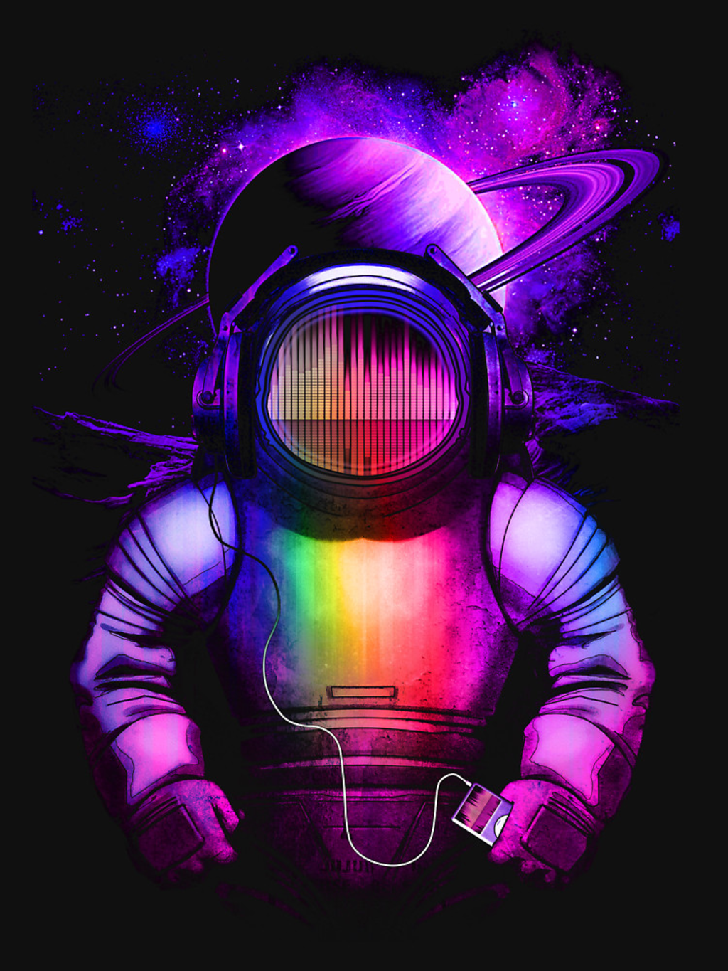 RedBubble: Music in space