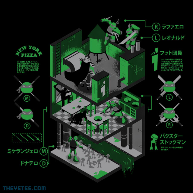 The Yetee: Heroes In A Half Shell