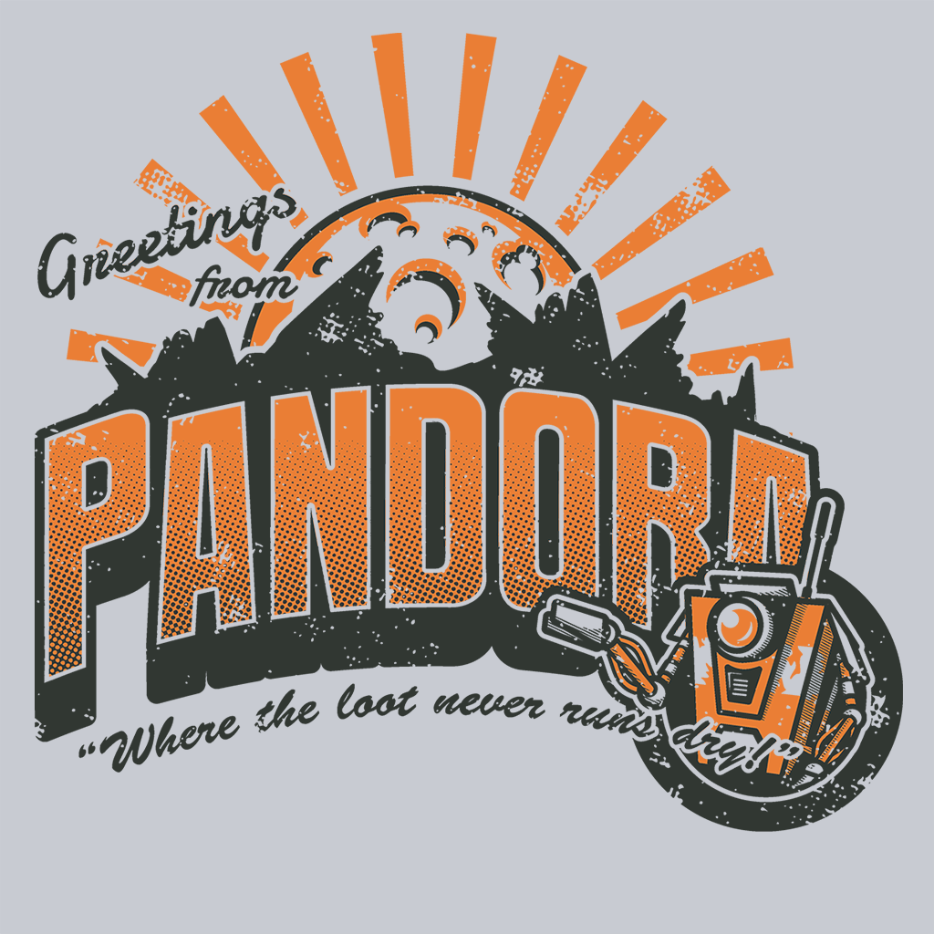 Pop-Up Tee: Greetings from Pandora