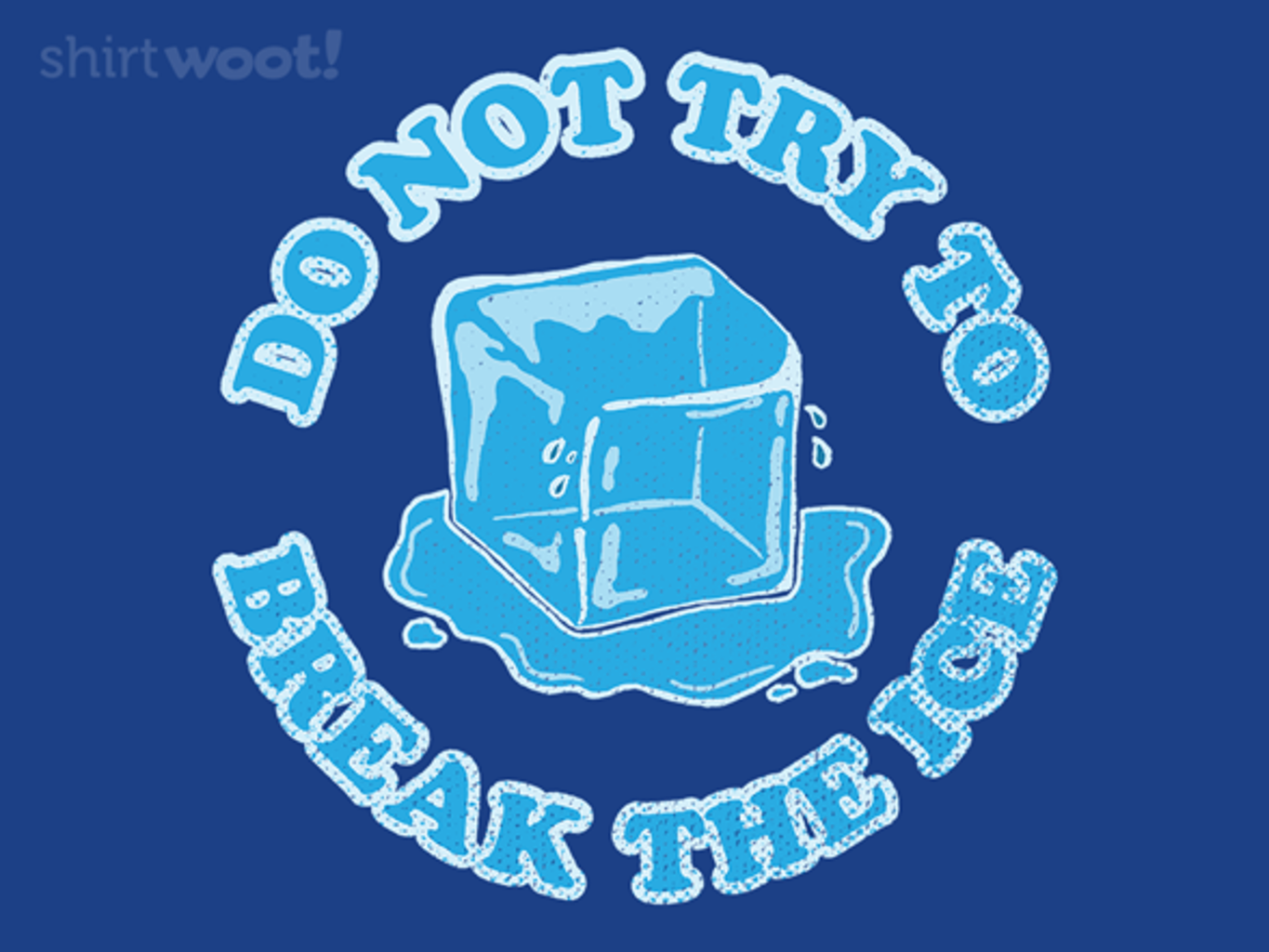 Woot!: Ice Cold - $15.00 + Free shipping