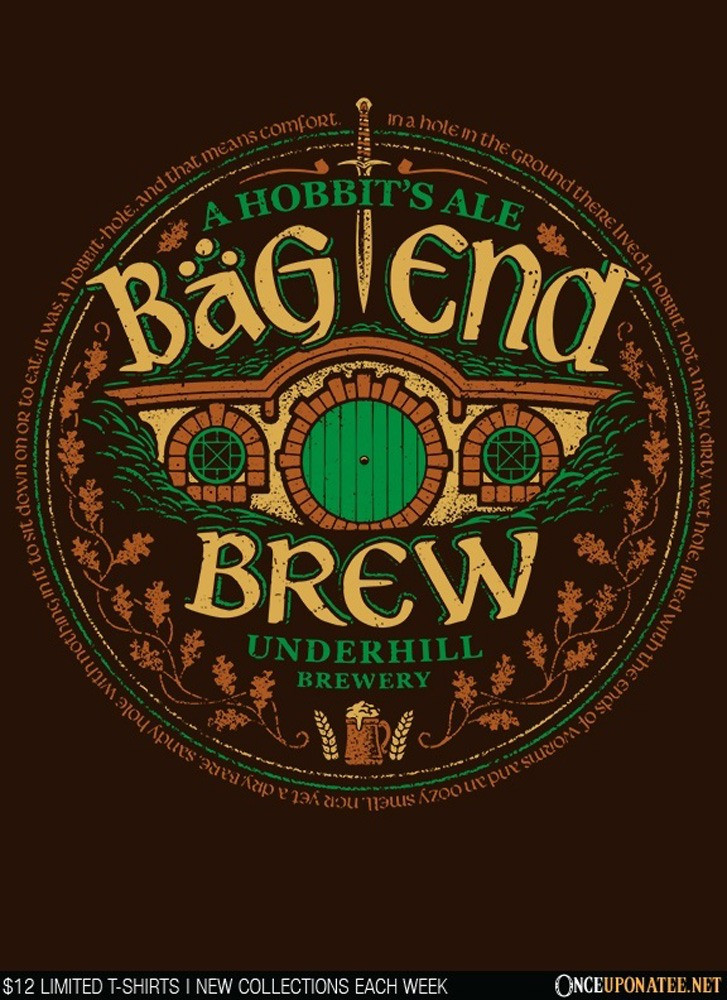 Once Upon a Tee: Bag End Brew