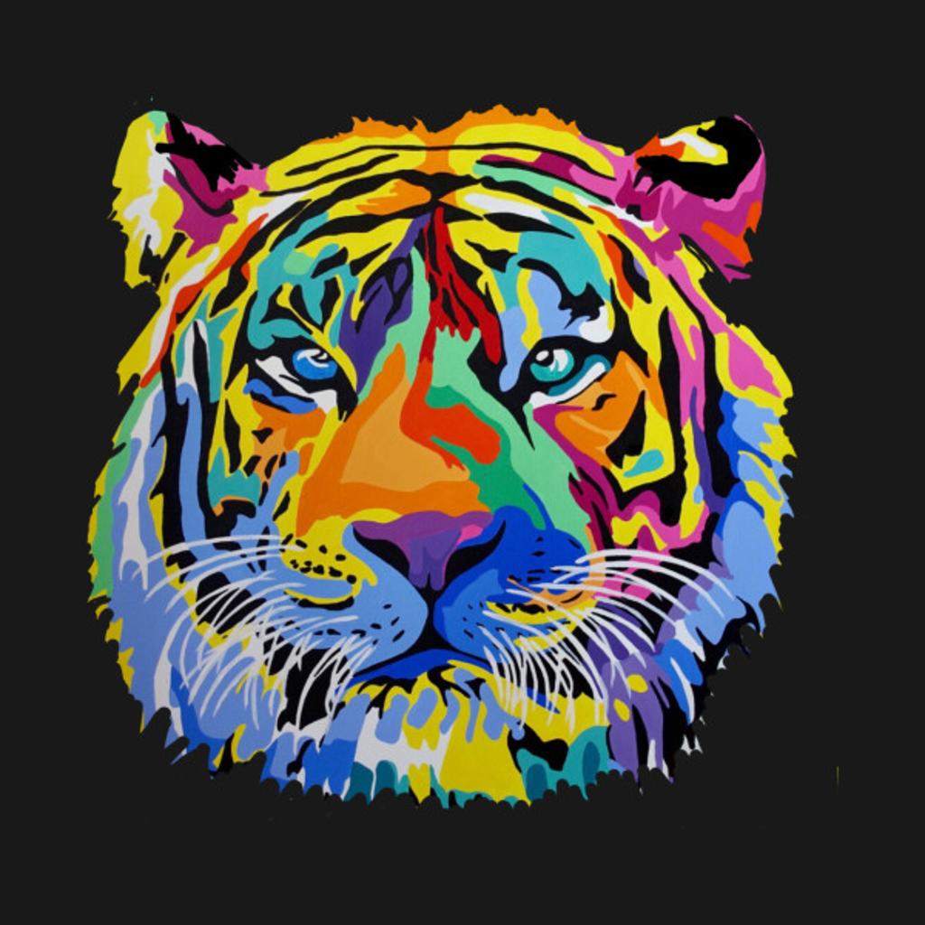 TeePublic: Tiger Pop