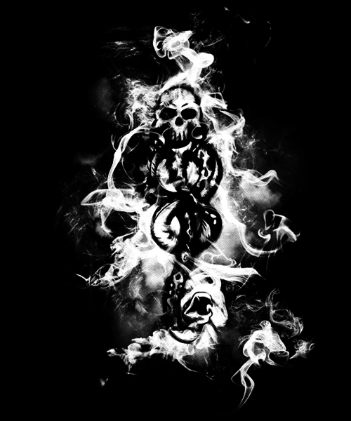 Qwertee: Death Eaters