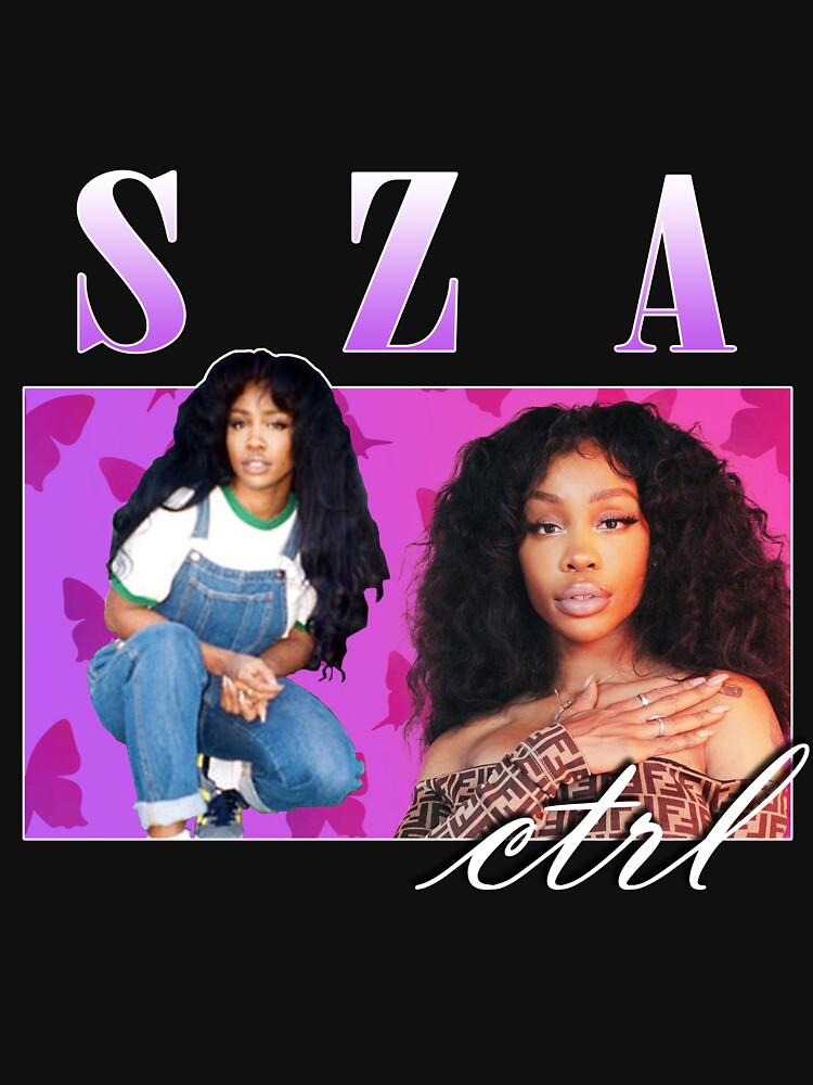 RedBubble: SZA retro vintage hip hop tee 90's aesthetic