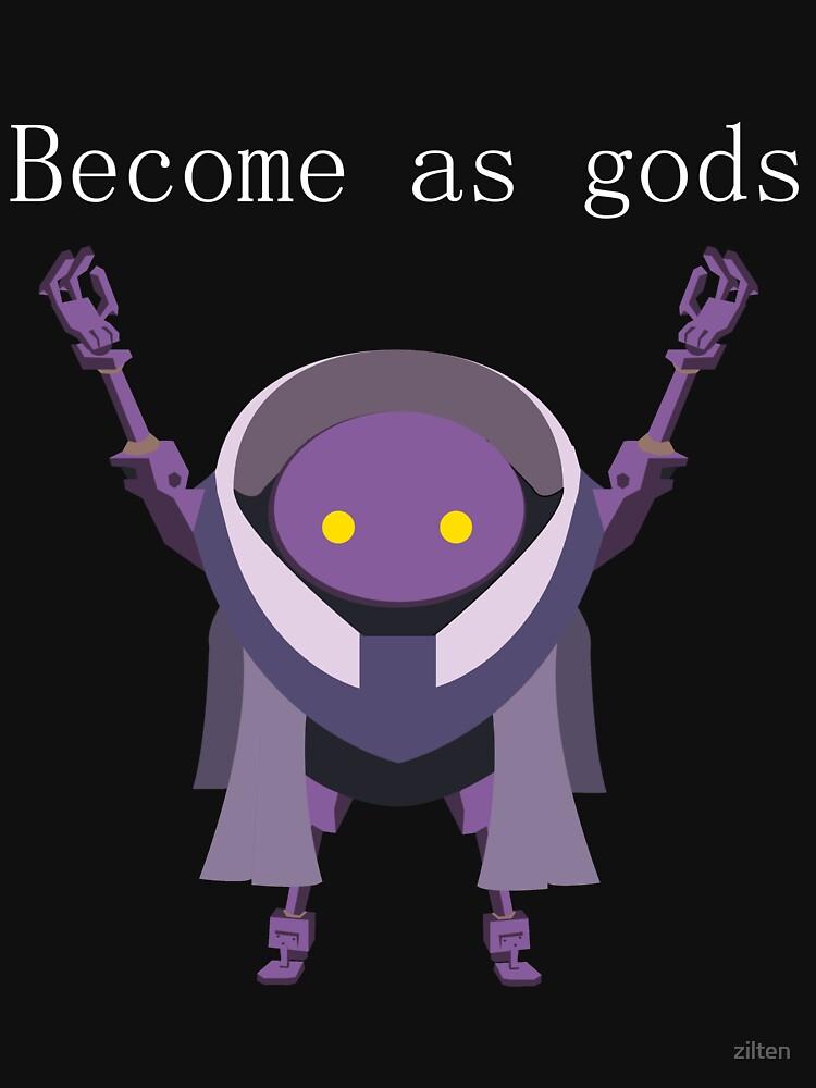 RedBubble: Become as Gods - Nier Automata