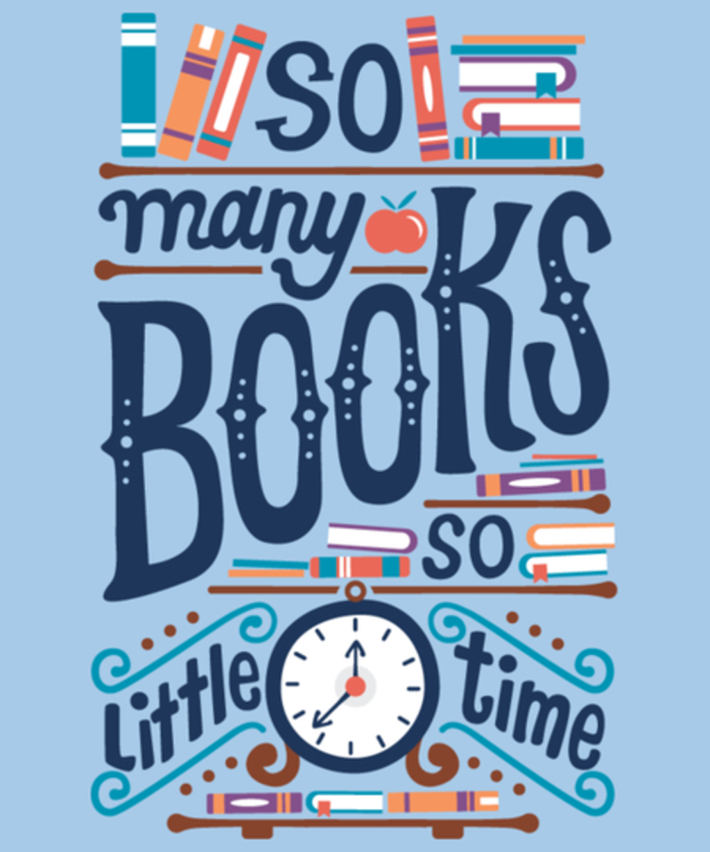 Qwertee: So many books
