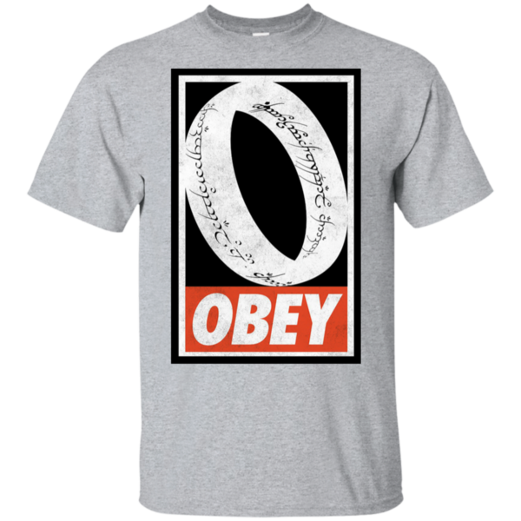Pop-Up Tee: Obey One Ring