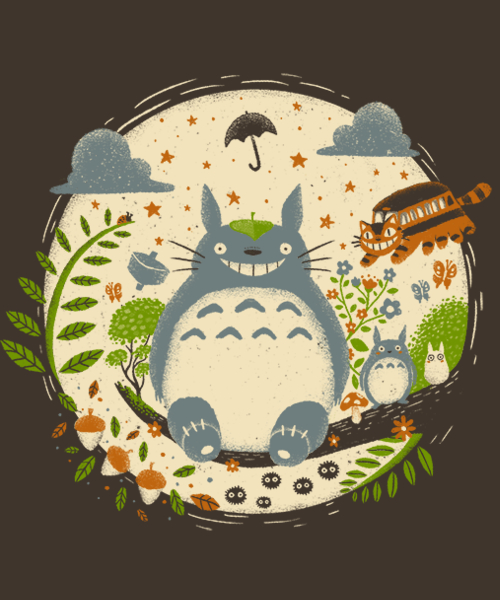 Qwertee: Magical Forest