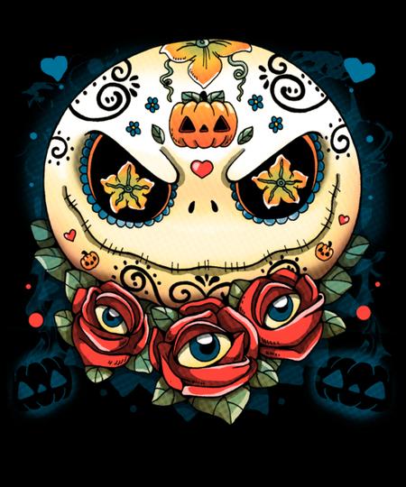 Qwertee: Sweet Skeleton