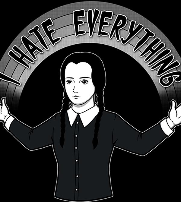teeVillain: Hate Everything
