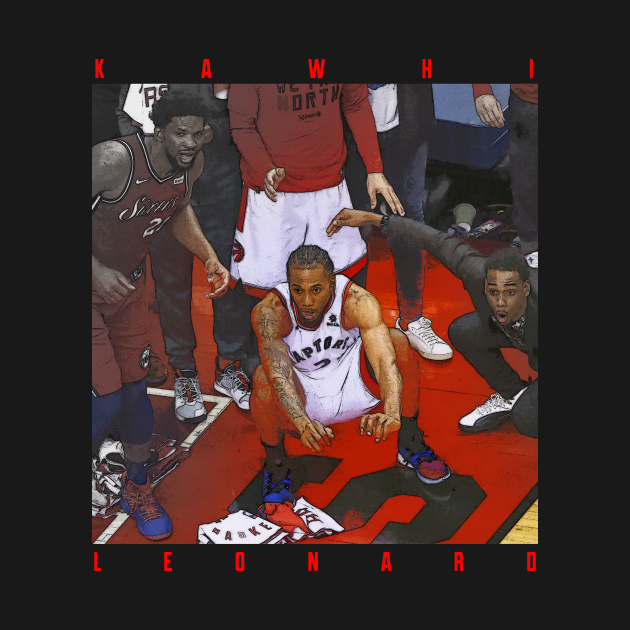 TeePublic: Kawhi Leonard game winner