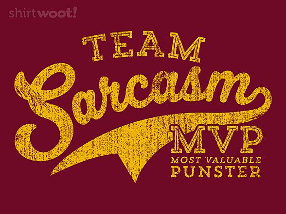 Woot!: Team Sarcasm