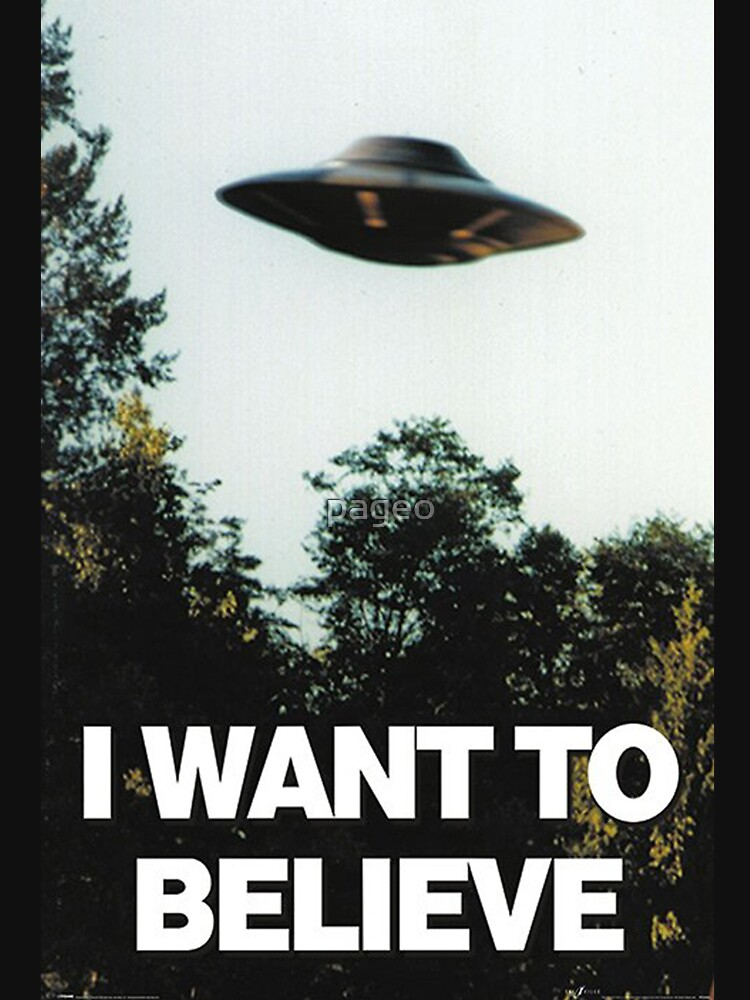 RedBubble: I Want To Believe