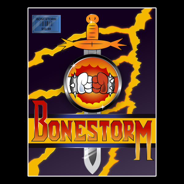 NeatoShop: Bonestorm Cover