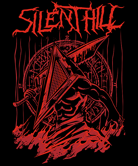 Qwertee: Silent Red Thing