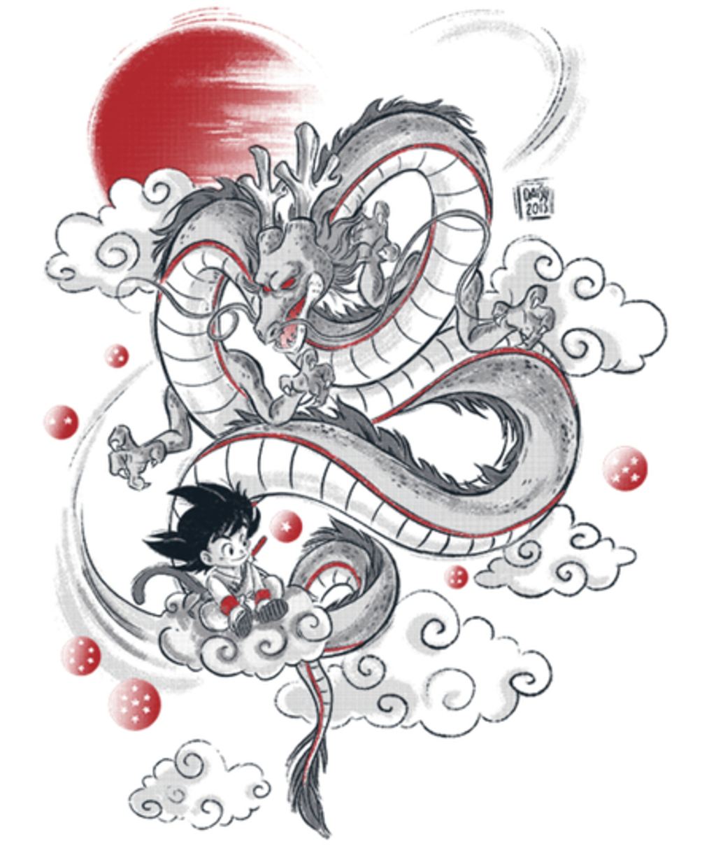 Qwertee: My Dragon friend