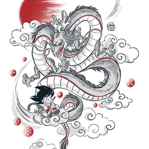 Qwertee: My Dragon friend