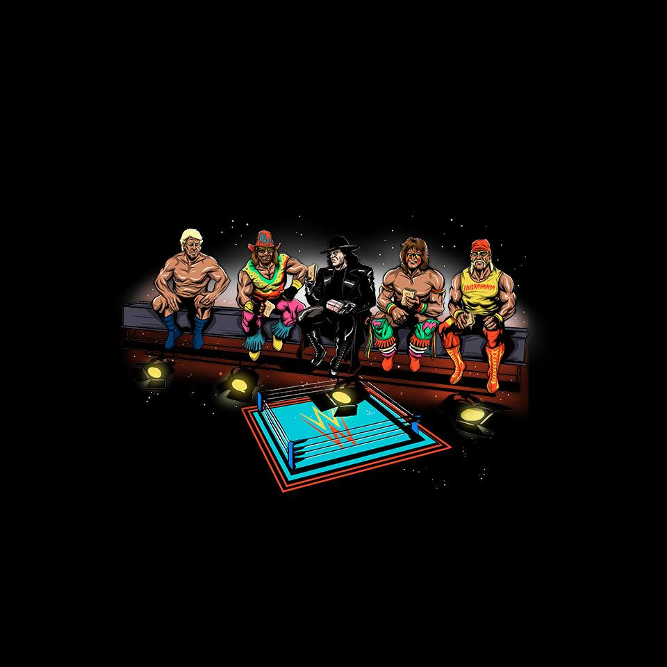 TeeFury: Wrestlers Break